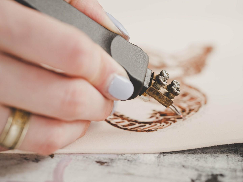 кожаные изделия ручной работы