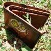 кожаный кошелек смешная сова фото 2
