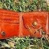 кожаный кошелек смешная сова фото 4