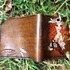 кожаный кошелек девушка пират фото 2