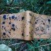 кожаный кошелек с якорем фото 2