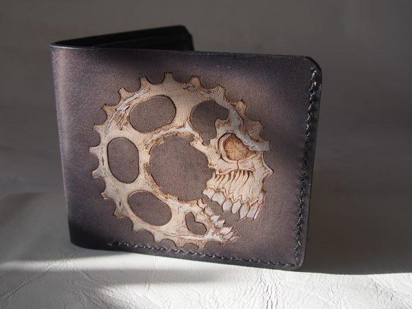 кожаный кошелек механическая звезда фото 4