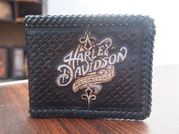 кошелек из кожи Harley фото