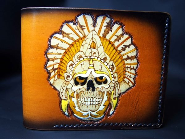 кошелек череп майя фото