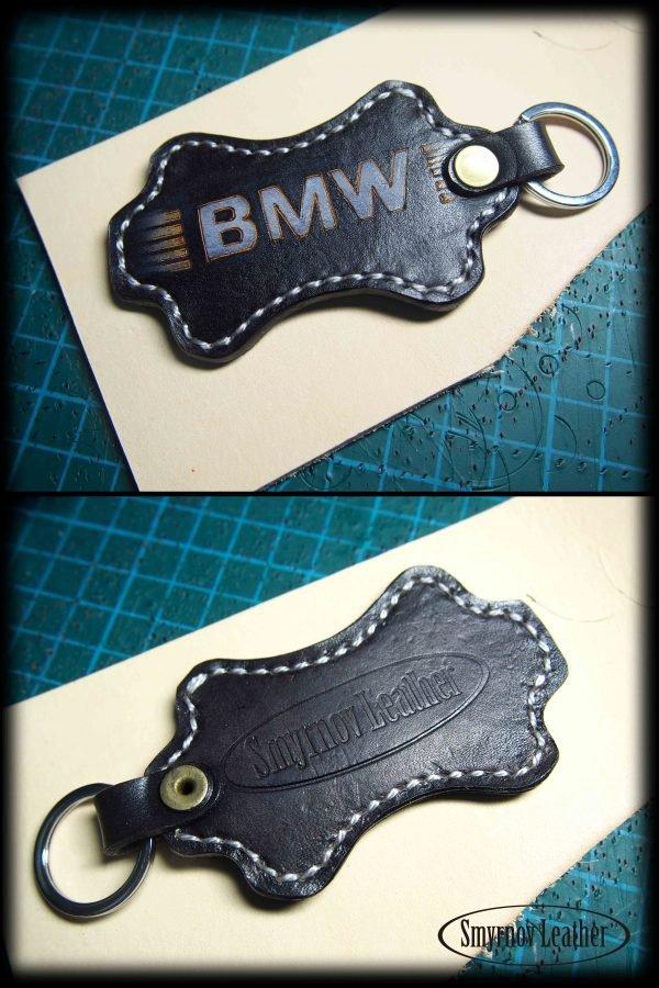 кожаный брелок BMW фото