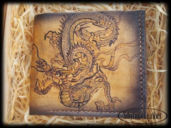 портмоне с драконом фото 3
