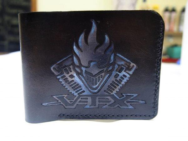 кошелек с логотипом Vtx для байкера фото 2