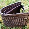 кожаный кошелек тиснение фото 4