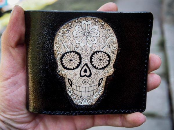 кошелек с черепом фото 8