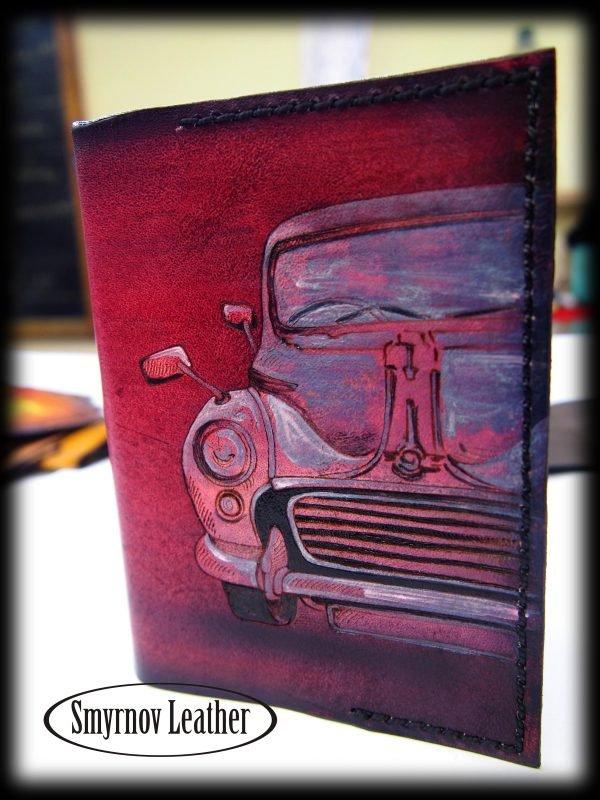 обложка на паспорт автомобиль фото