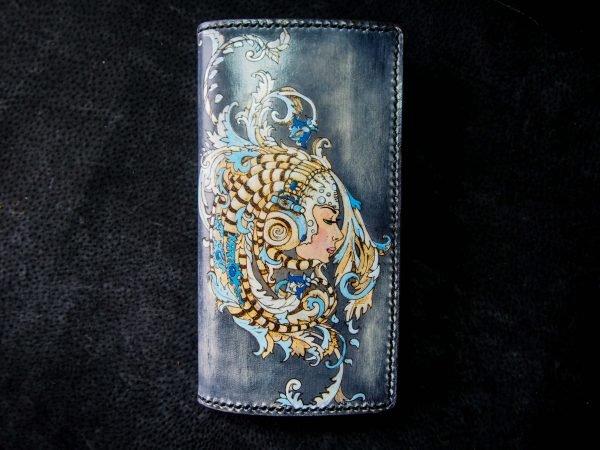 кошелек с девушкой фото