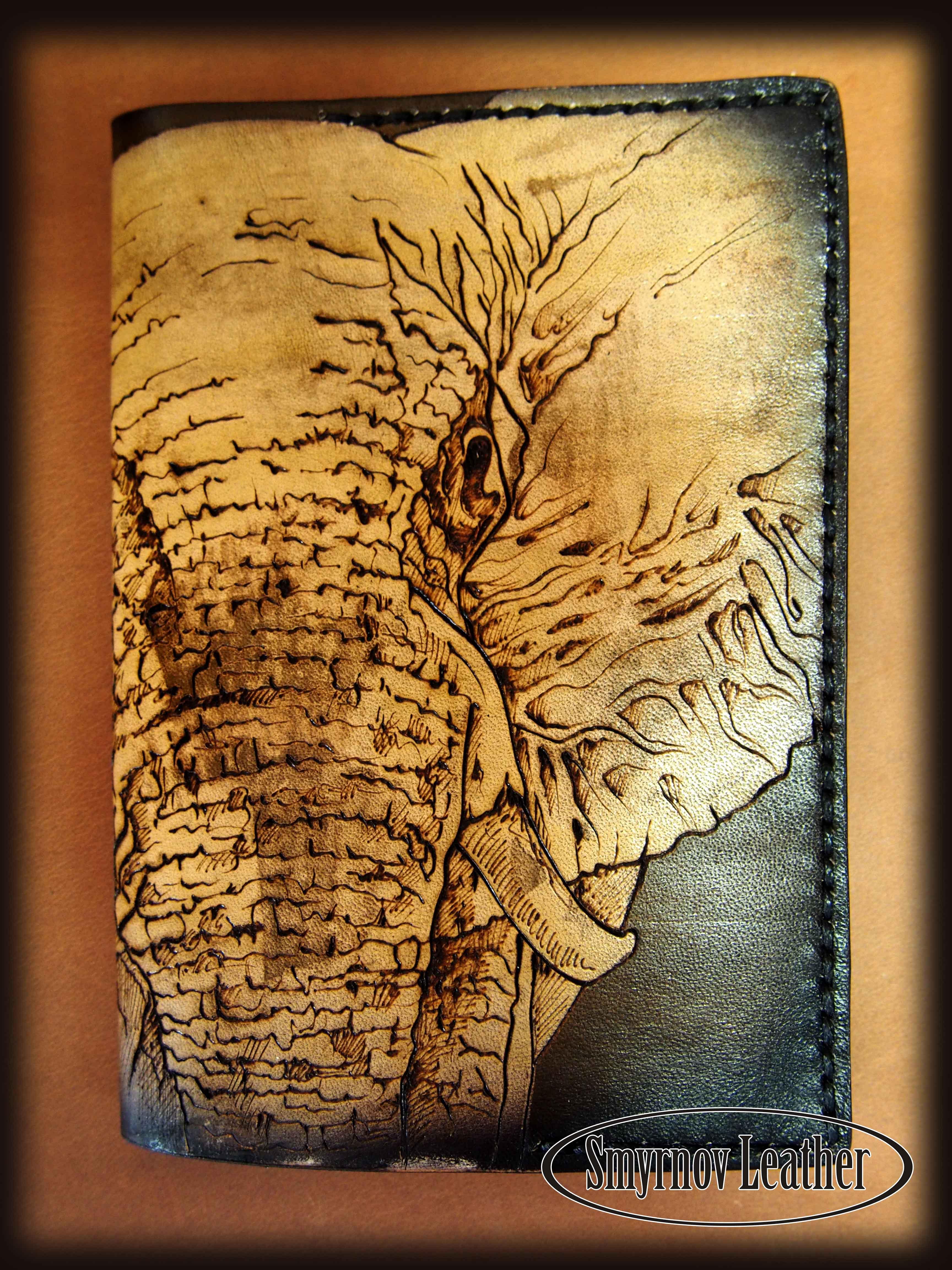 обложка на паспорт большой слон фото 1