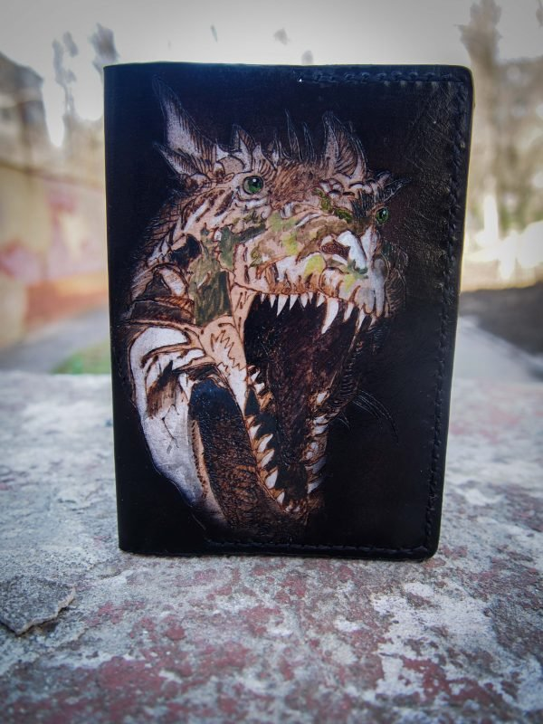 обложка на паспорт тиранозавр фото