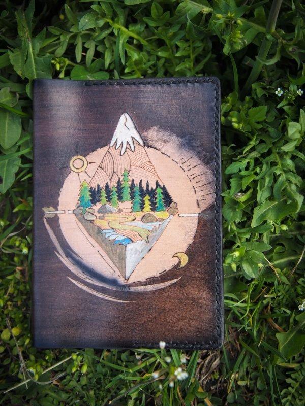 обложка на паспорт горы фото 1