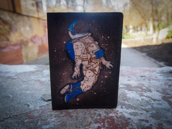 обложка для паспорта с космонавтом фото