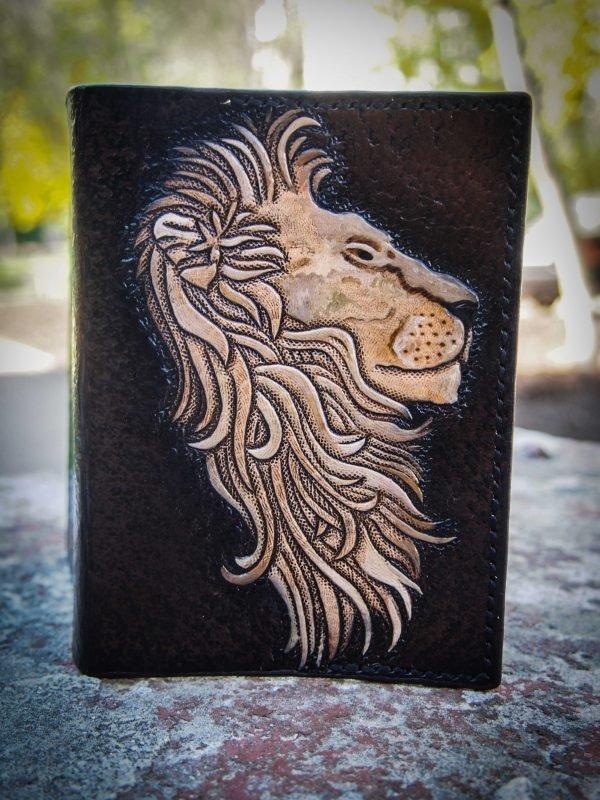 обложка для паспорта лев фото 4