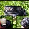 Кожаный ремень Листья фото 2