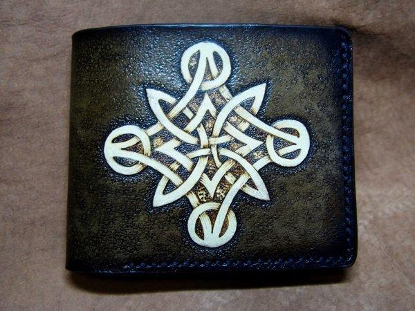 кошелек кельтский узел 8