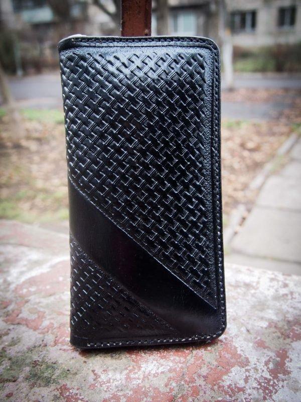 черный кошелек на молнии фото 7