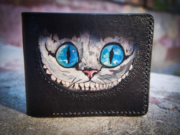 чеширский кот на кошельке фото 2
