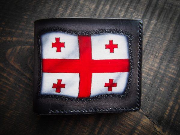 кошелек с флагом Грузии фото 1