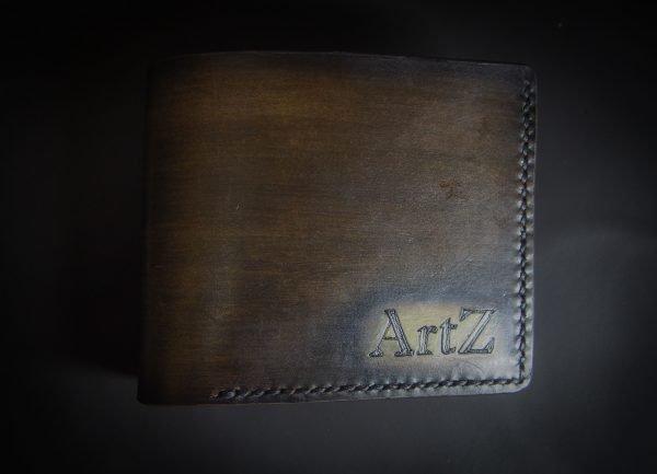 кошелек с инициалами фото 1