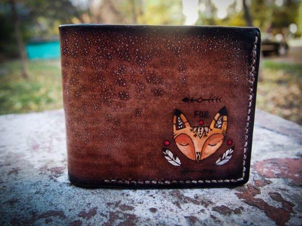 кошелек с лисичкой фото 1