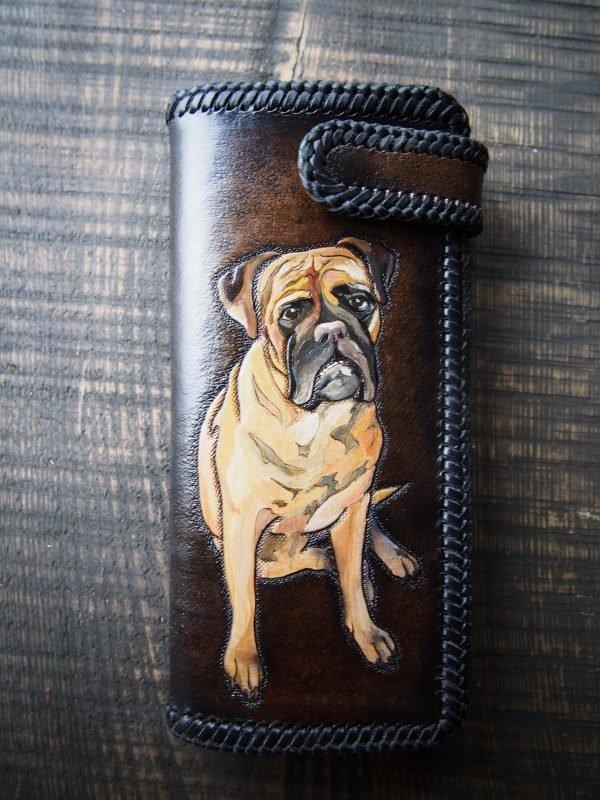 кошелек с портретом собаки 6