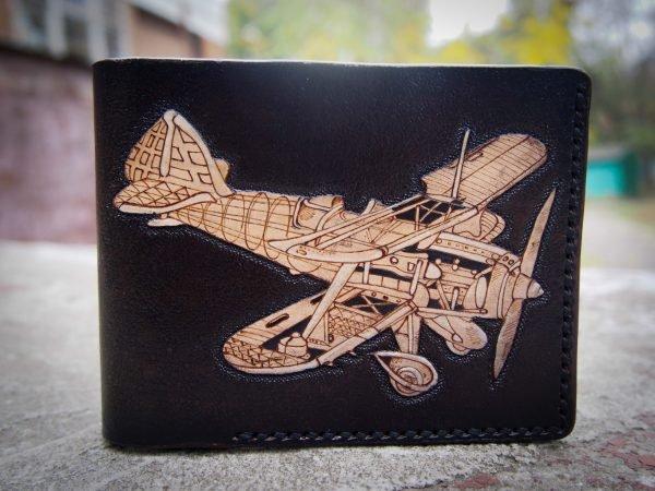 кошелек с самолетом фото 1