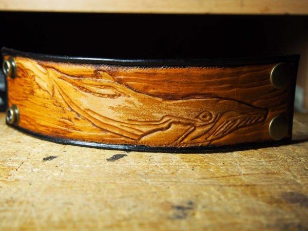 Кожаный браслет Кит
