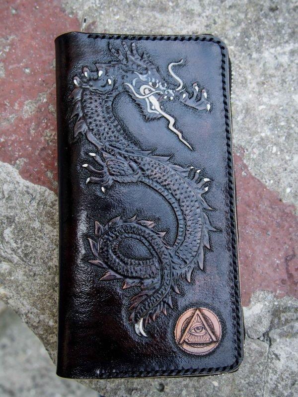 кошелек дракон фото