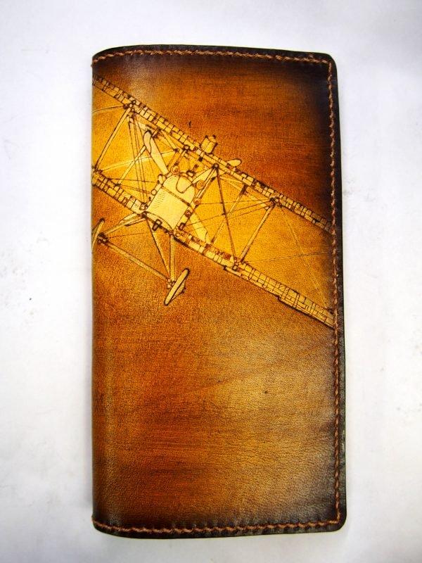 кошелек с аэропланом фото