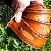 Кожаный ремень Узор фото