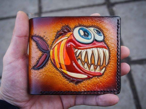 кошелек Смешная рыба 1