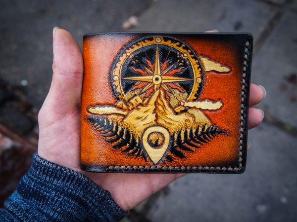 кошелек с Розой ветров фото 8