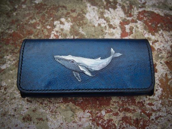 чехол для очков с китом фото 1