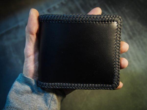 черное портмоне фото 1