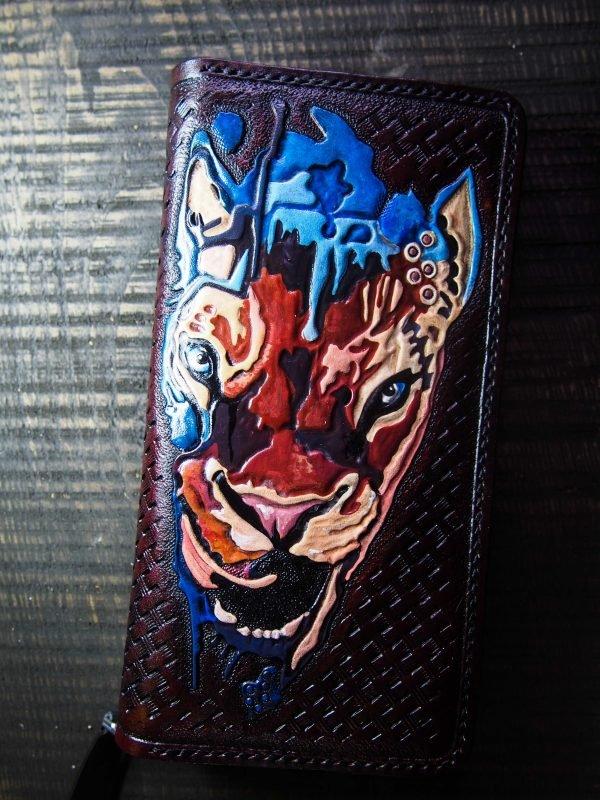 кошелек на молнии тигрица фото 1