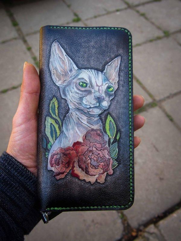 женский кошелек сфинкс фото 6