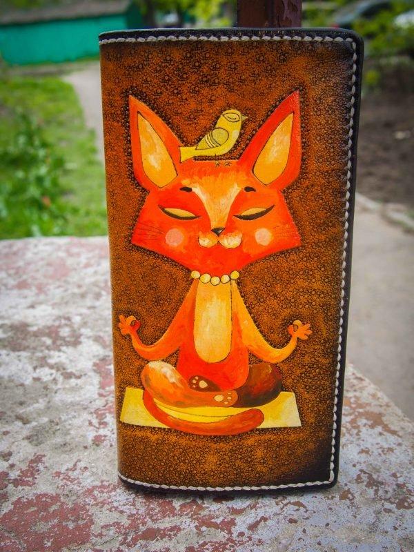 кошелек с котом фото 1