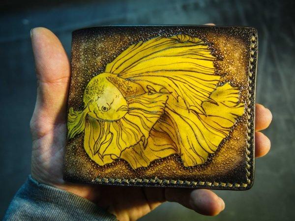 кошелек золотая рыбка фото 1