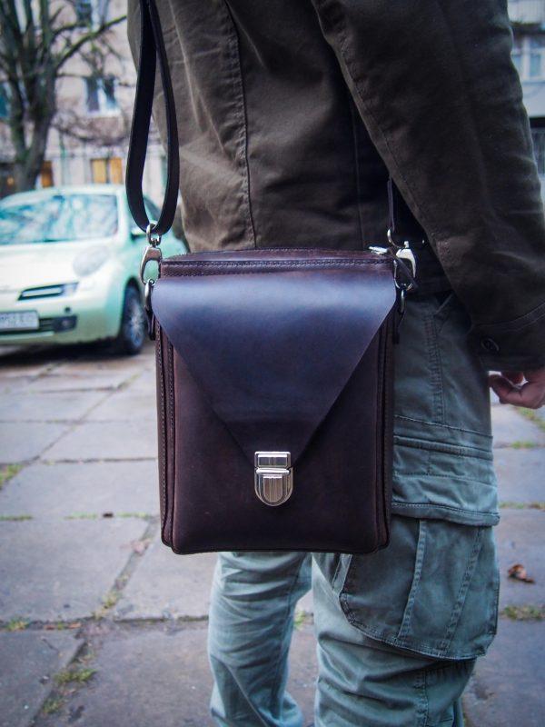 черная мужская сумка фото 2