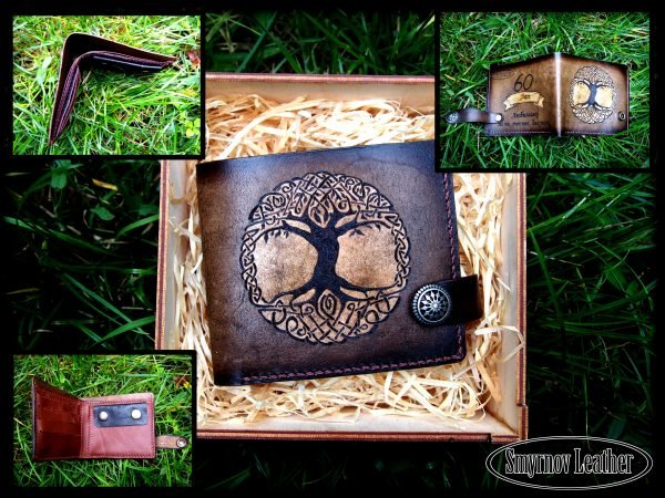 кошелек древо фото