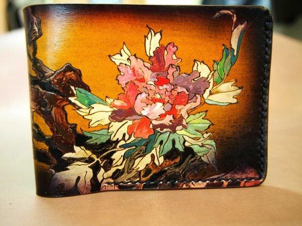 кошелек цветок хризантема фото