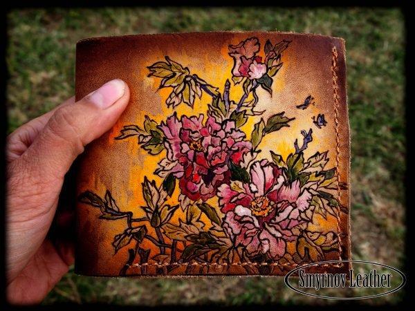кошелек хризантемы фото