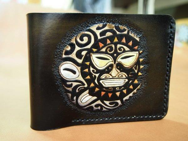кожаный кошелек Майя фото
