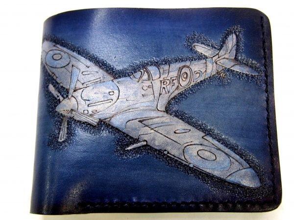 кошелек синий самолет фото