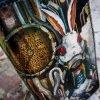 кожаный кошелек на молнии стимпанк фото 9
