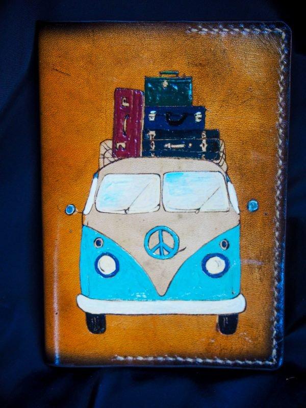 обложка для паспорта автобус любви