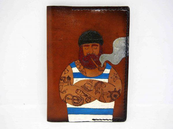 обложка на паспорт моряк фото